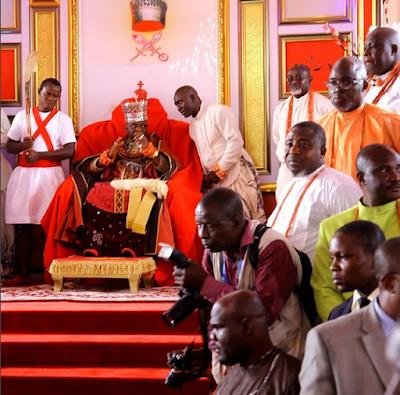 Coronation of 20th Olu of Warri, Ogiame Kenwoli I