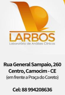 LARBOS - LABORATÓRIO DE ANÁLISES CLÍNICAS