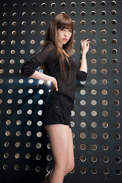 foto seksi   lee eun hye artis korea yang memilki betis