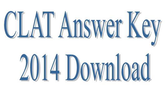 CLAT Answer Key 2014