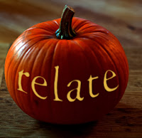 Relate Halloween pumpkin
