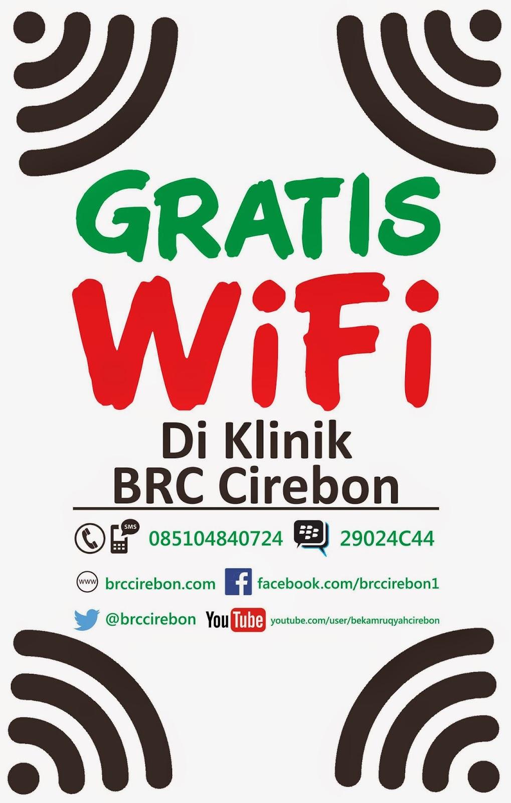 Klinik Bekam Ruqyah Center Cabang Cirebon Gratis Akses Internet WiFi Hotspot