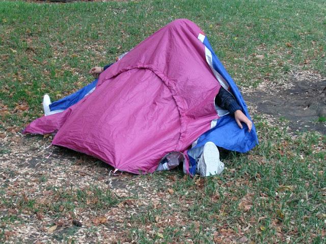 Sneakers Tent
