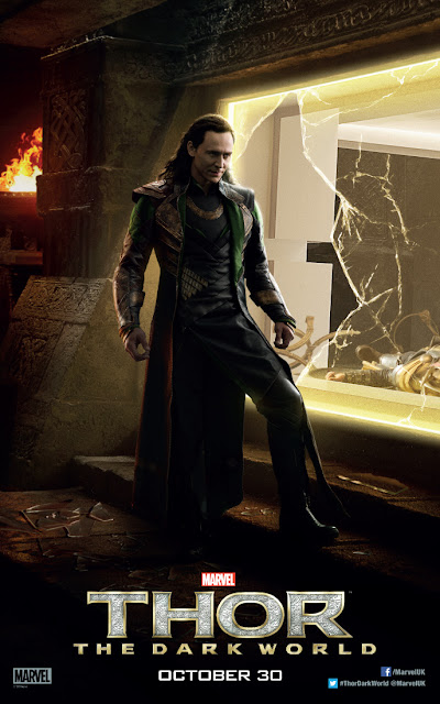 Thor: The Dark World Second Tom Hiddleston Loki Character Banner