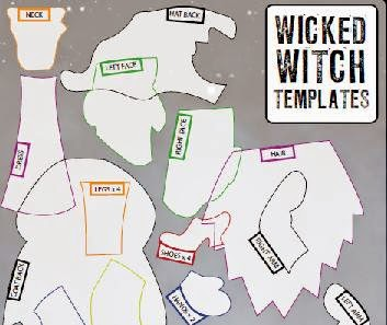 Wonderfully Wicked Witches template sample