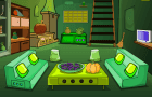 Green Upstairs Room Escape
