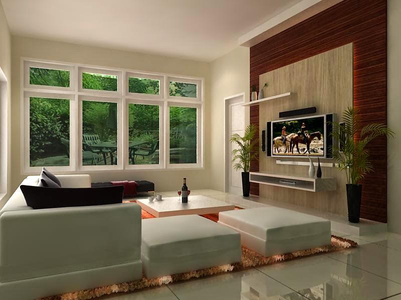 Desain ruang keluarga 4