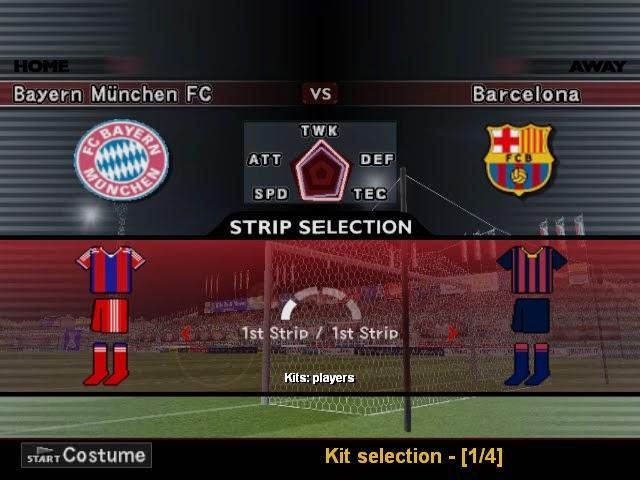 Download option file Pes 6 update bursa transfer pemain dan jersey terbaru bulan Juni, Juli, Agustus 2014