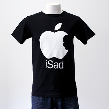 CAMISETA APPLE iSAD
