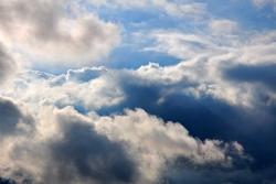 Wolken...