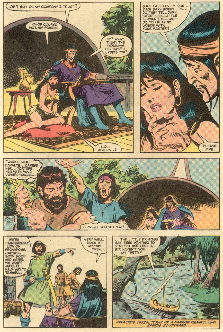 Conan the Barbarian (1970) Issue #140 #152 - English 15