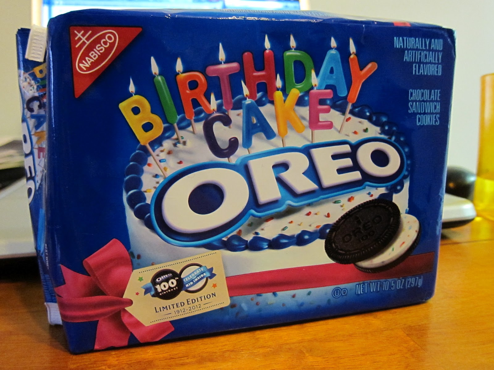 Happiness In The Form Of Delicious Edibles Homemade Birthday Cake Oreos