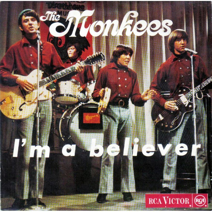 The Monkees I'm a Believer 1966
