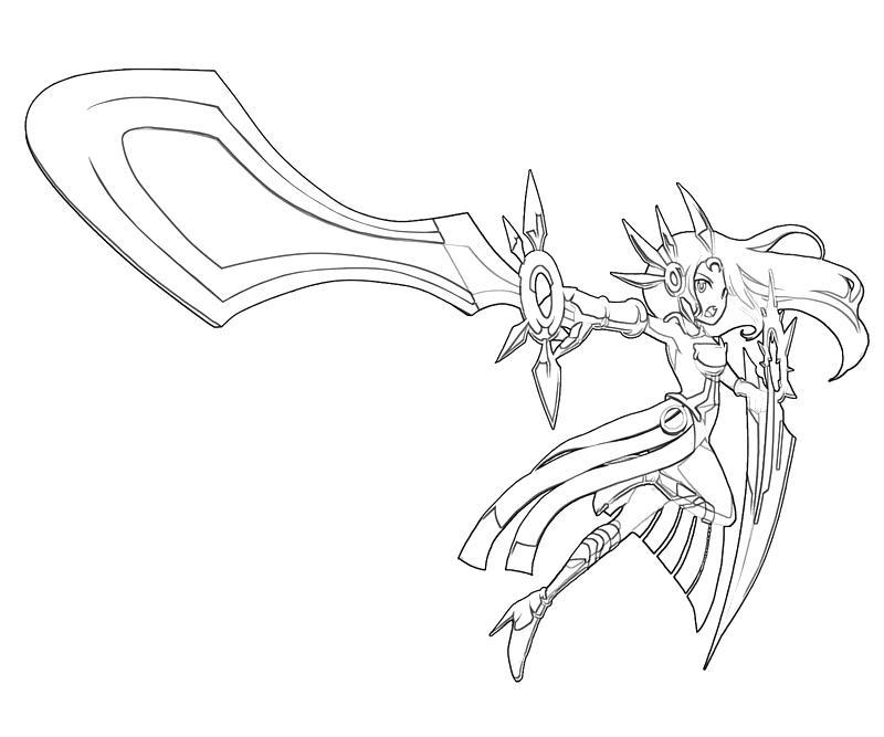 League of Legends Leona Character