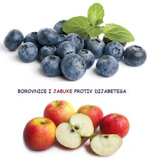 borovnice i jabuke protiv dijabetesa