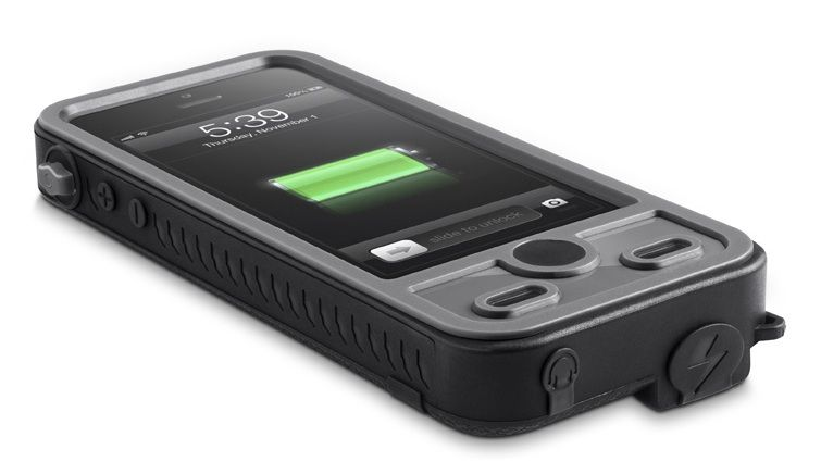 The ibattz Mojo Refuel Aqua iPhone case
