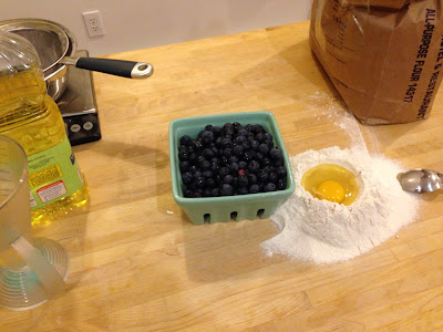Blueberry Strudel Ingredients