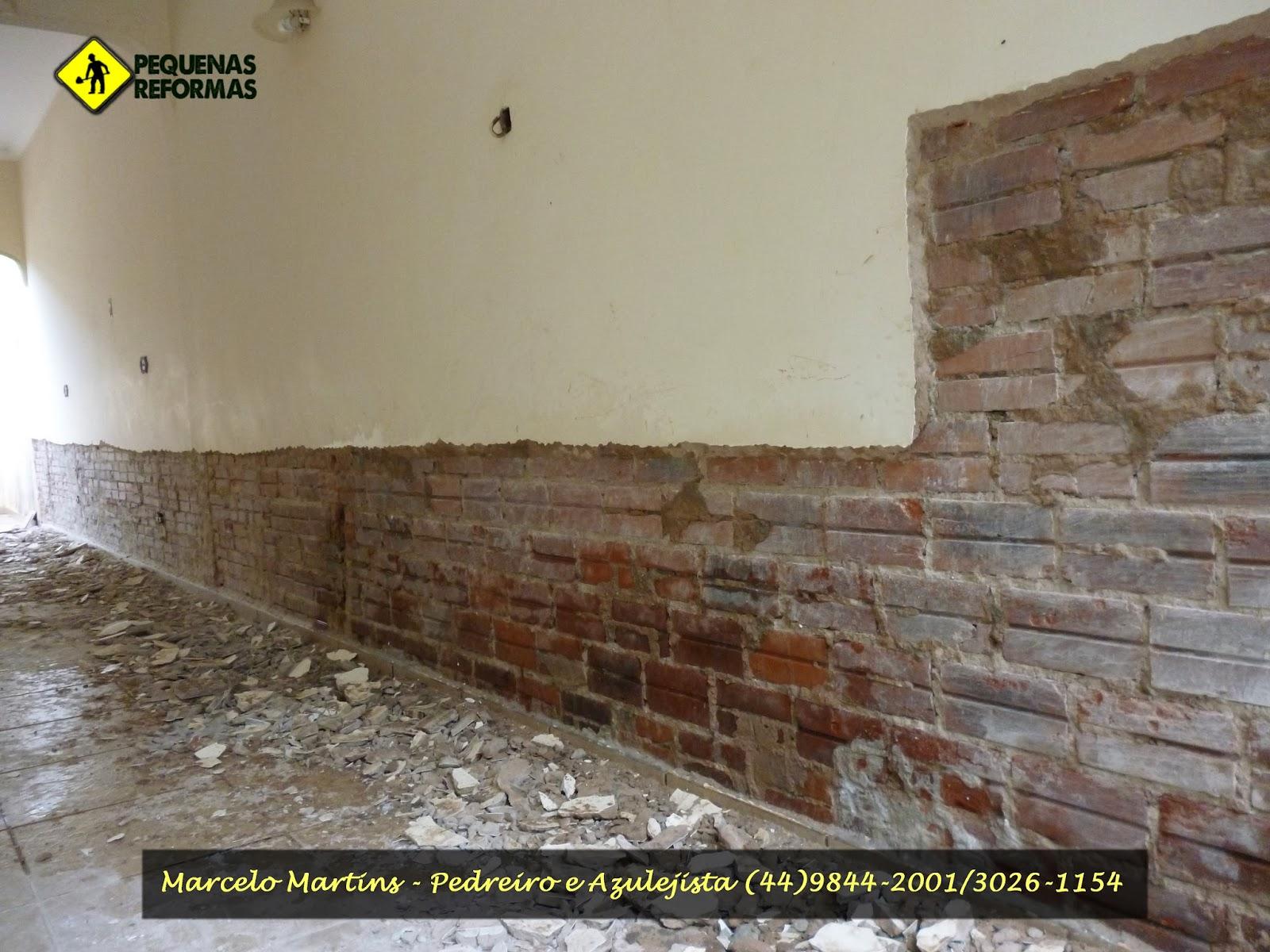Impermeabilização e reboco Reforma em residencia com infiltração  #BEBE0D 1600 1200