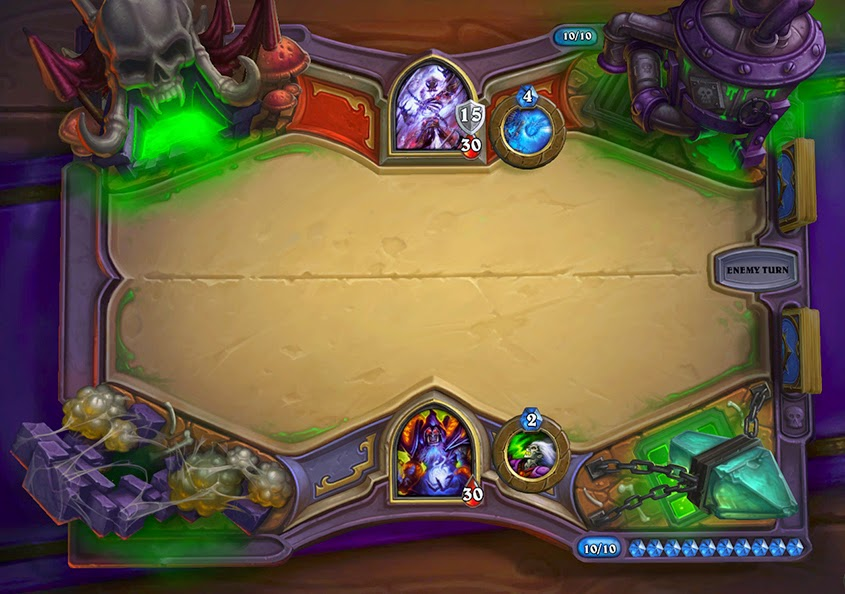 Blizzard Entertainment Hearthstone Curse of Naxxramas expansion
