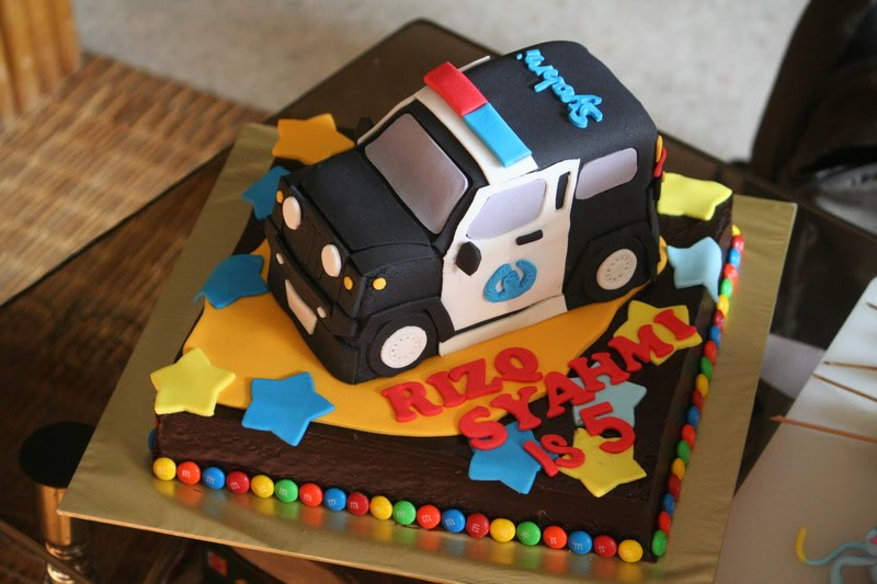 Rizq Cakes Police Car Cake For 5 Year Old Vvvip