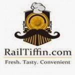 Get Up to Rs.300 OFF at RailTiffin for Rs. 18 at Groupon