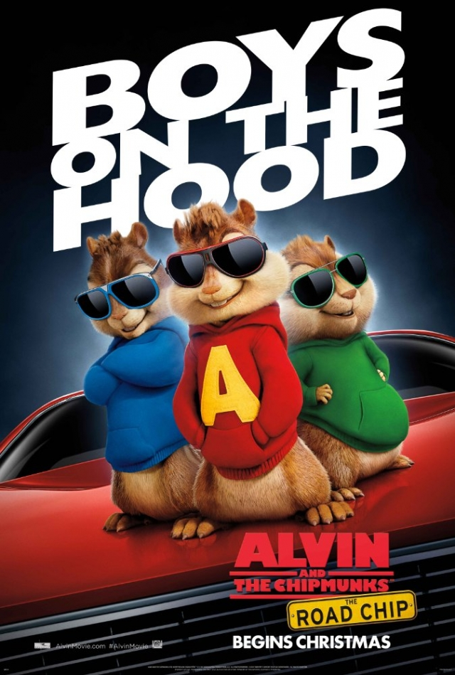 Sóc Chuột Du Hí - Alvin and the Chipmunks: The Road Chip (2015)