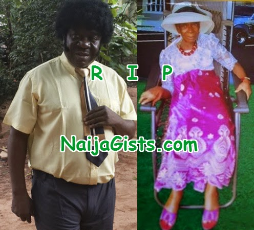 mr ibu  mother dead