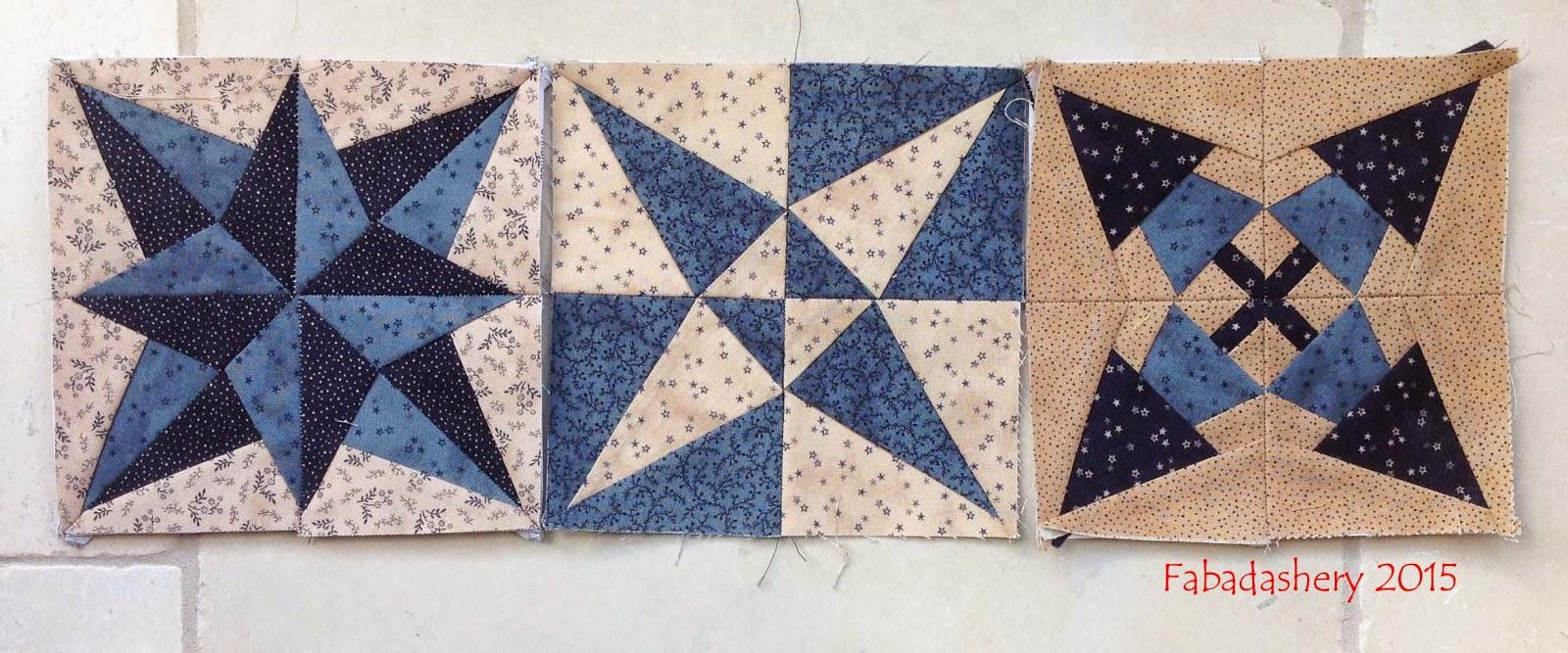 Quilt Room 2015 Miniature Quilt BOM