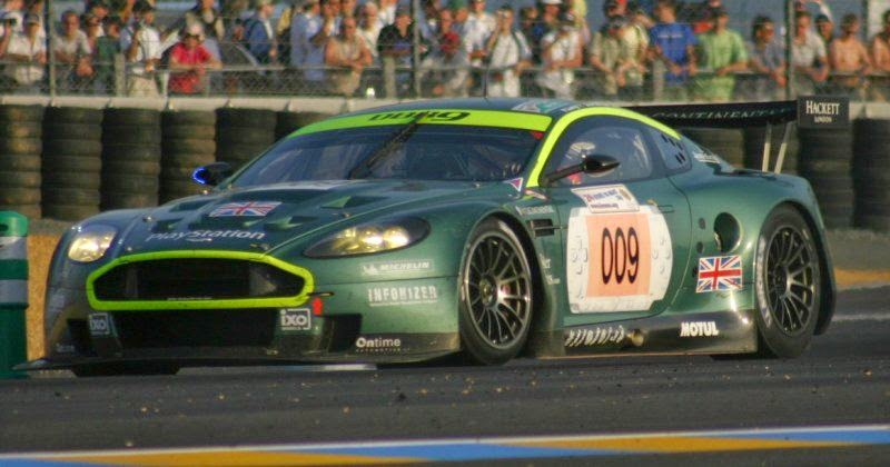 el rincon de cartero aston martin dbr9 le mans 2006 pareja. Black Bedroom Furniture Sets. Home Design Ideas