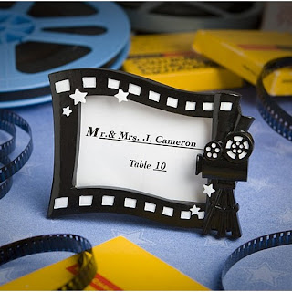 Hollywood movie place card frame