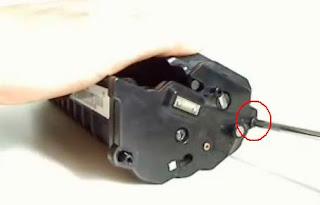 procedimiento para rellenar el toner samsung ml-210