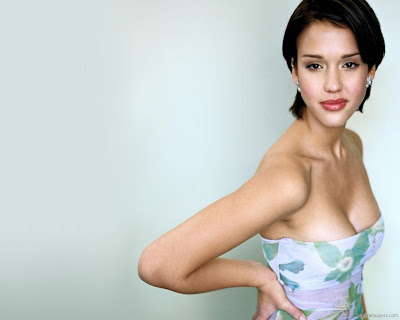 Jessica Alba Hot HD Wallpaper