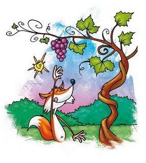 Fabula la Zorra y las Uvas