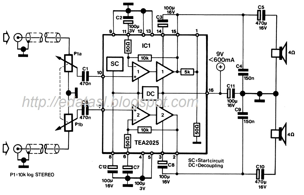 electronic circuit componnent data lesson and etc mini stereo rh edatasl blogspot com