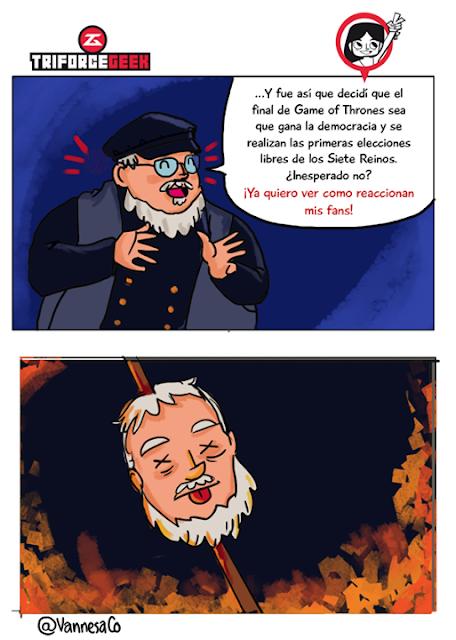 democracia llegó a poniente George RR Martin - Juego de Tronos en los siete reinos