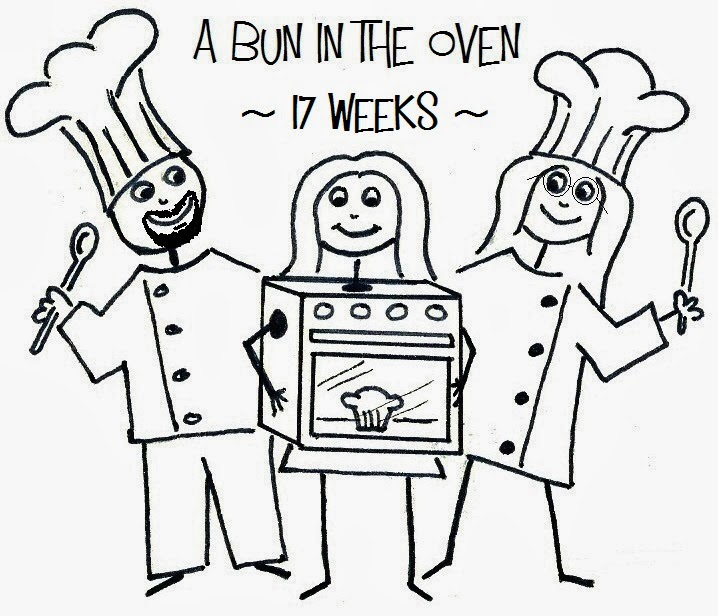 A bun in the oven - 17 weeks pregnant
