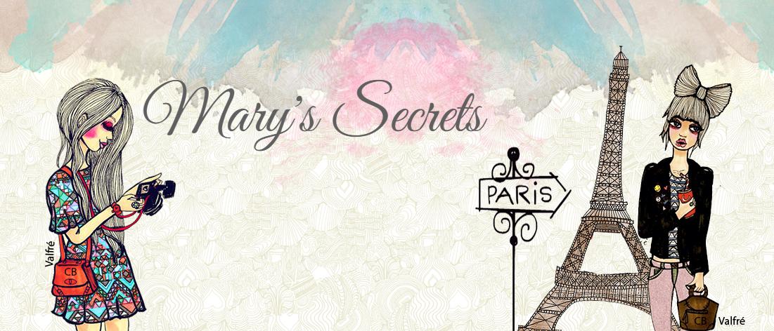 Paceira: Segredinhos da Mary