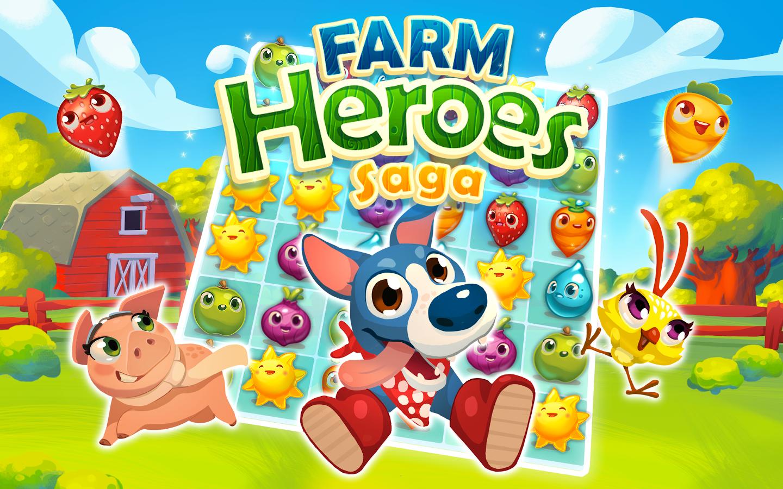 Farm Heroes Saga para Android e iOS, el nuevo juego puzzle de los creadores de Candy Crush Saga