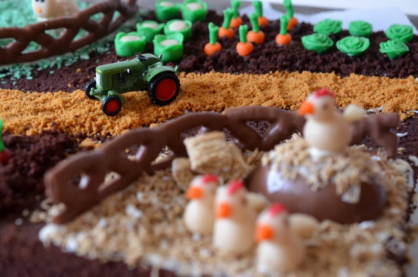 Schokoladiger Bauernhofkuchen