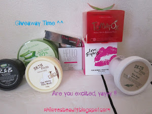 Tangerine Babi&#39;s 100+ Follower Giveaways