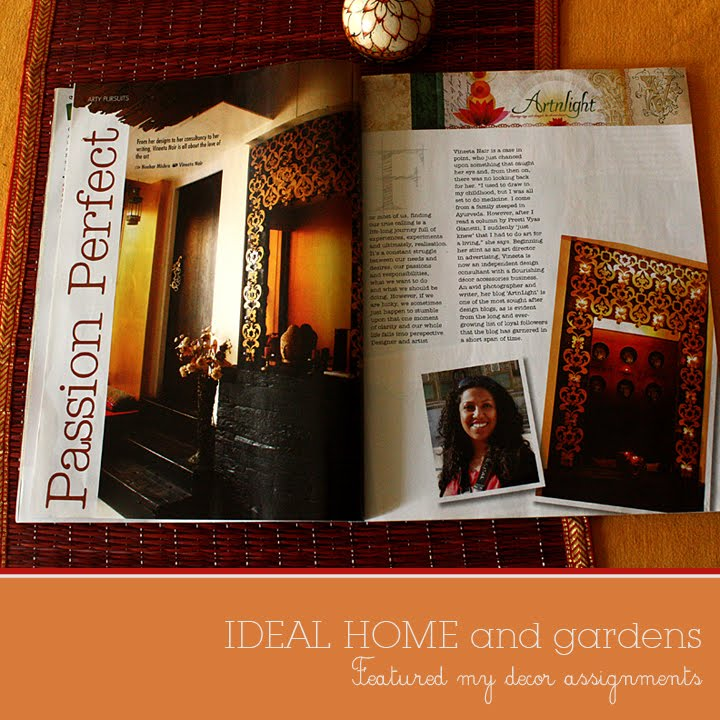 artnlight featured in ideal home and gardens kyoorius