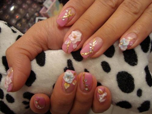 28 nice 3d flower nail art ledufa fabulous 3d flower nail art 22 concerning inspiration article prinsesfo Gallery