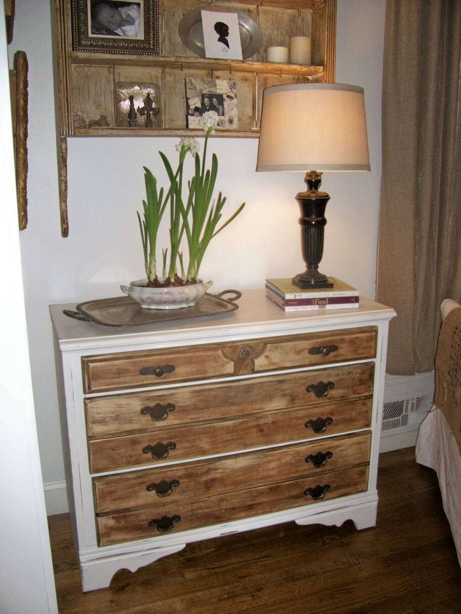 Tray bella small dresser redo for White painted wooden bedroom furniture