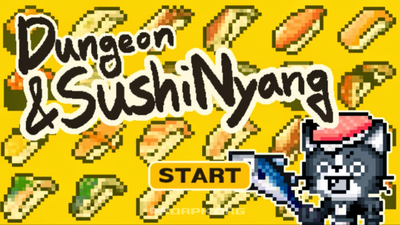 Dungeon&SushiNyang Gameplay Android