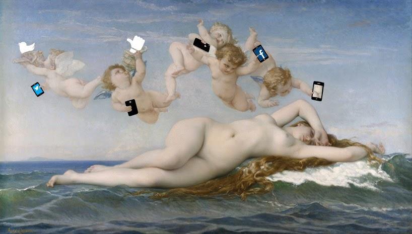 Александр Кабанель Рождение Венеры (1863)