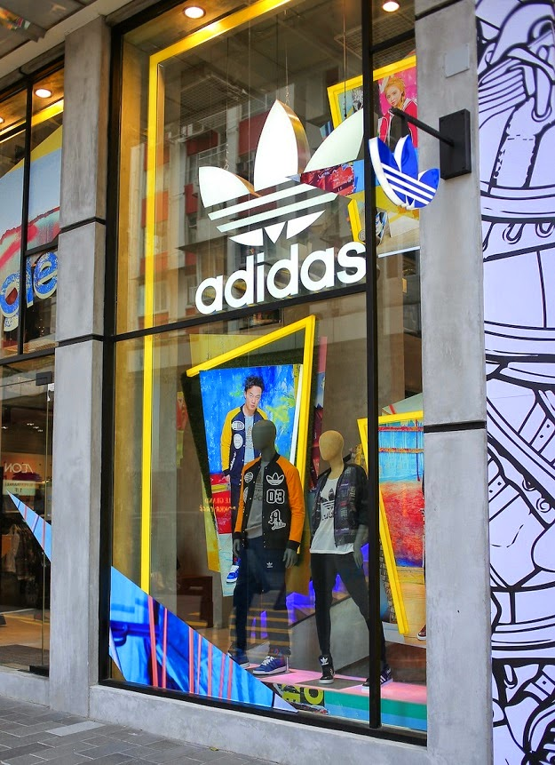 adidas locations hong kong