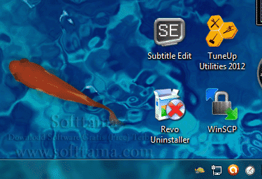 Screenshot software Animated Fish Desktop Wallpaper 1.7.1