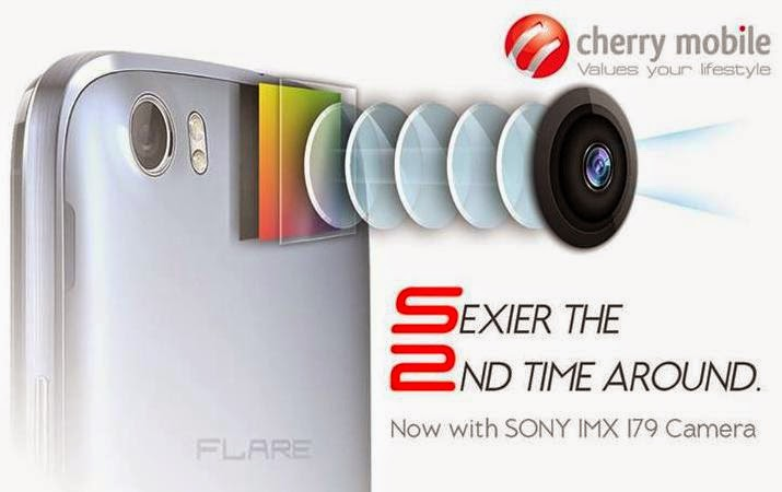Cherry Mobile Flare S2, Quad Core With Sony Camera Sensor For Php4,699