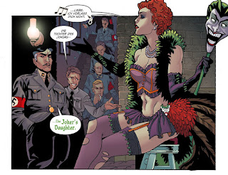 Page 5 from DC Comics Bombshells #6 featuring the Joker's Daughter