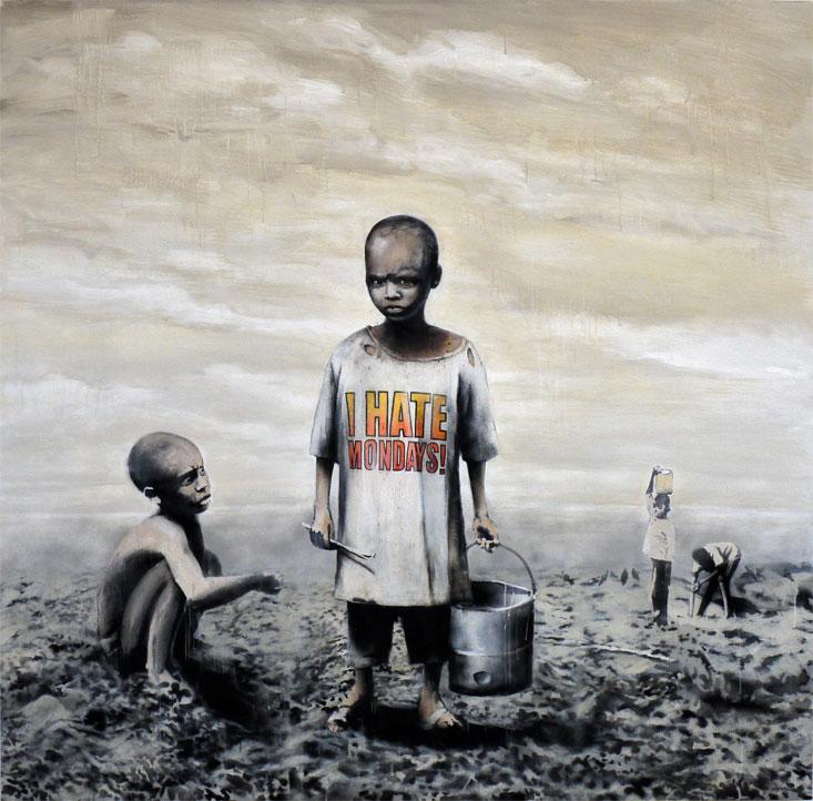Banksy. Inside.Doctor Ojiplatico